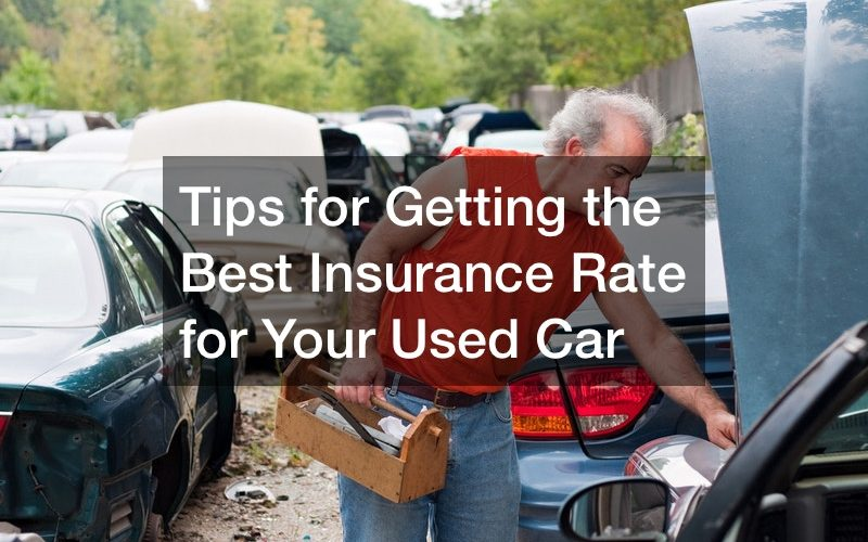 getting insurance on a used car